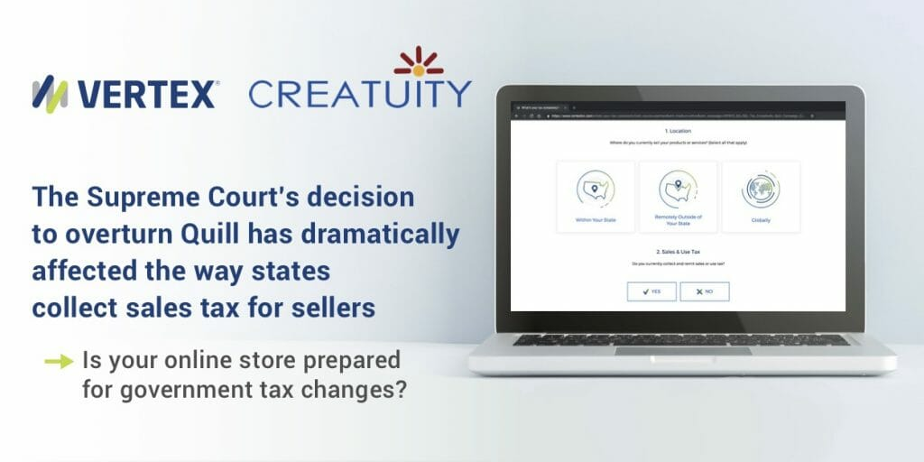 Navigating Sales Tax Changes with Vertex and Creatuity 1