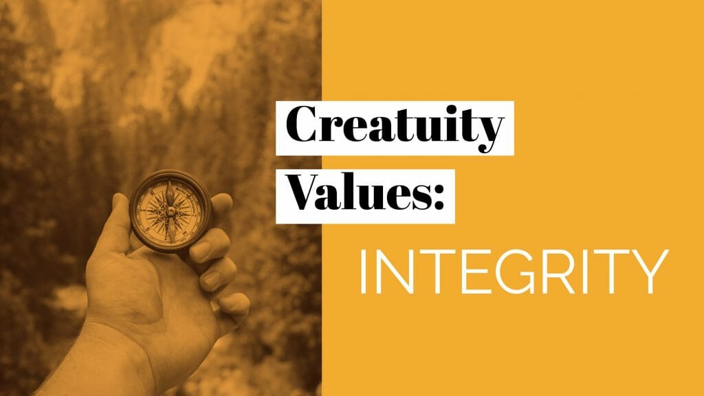 Our Company Values: Integrity 6