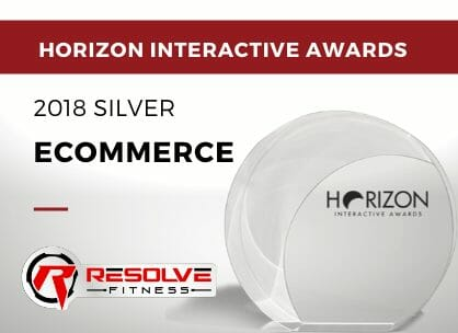 Ecommerce - 2018 Silver - Resolve Fitness